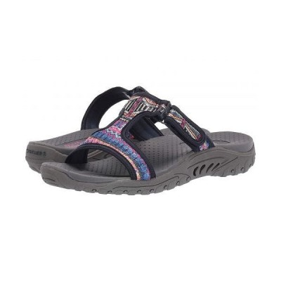 SKECHERS スケッチャーズ レディース 女性用 シューズ 靴 サンダル Reggae - Sequence - Navy