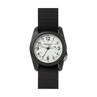 Military Watch Bundle: Bertucci Dx3 Field Watch Stone - Black Nylon & Cap 並行輸入品