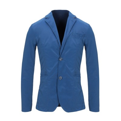 TRU TRUSSARDI テーラードジャケット ブルーグレー 46 ナイロン 60% / ポリエステル 40% テーラードジャケット