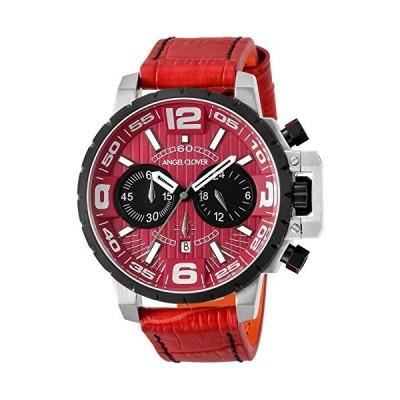 [エンジェルクローバー] 腕時計 タイムクラフト レッド文字盤 ステンレス/ステンレス(BKPVD) ケース 100m防水 デイト NTC48SRE-