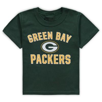 グリーンベイ・パッカーズ NFL Pro Line by Fanatics Branded Toddler Team Victory Arch T-シャツ - Green