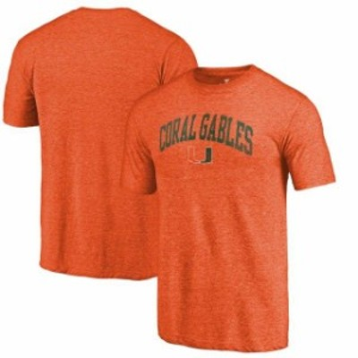 Fanatics Branded ファナティクス ブランド スポーツ用品  Fanatics Branded Miami Hurricanes Heathered Orange Homet