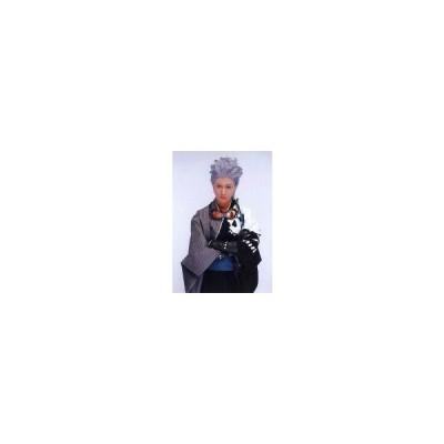 中古生写真(男性) 太田基裕(高杉晋作)/膝上・衣装白・グレー・腕組み・キャラクターショット/超歌劇 幕末Rock 生写真