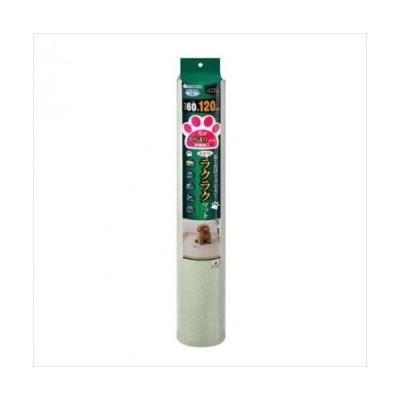 サンコー おくだけ吸着 ペット用 おそうじラクラクマット 60×120cm GR(グリーン) KO-47 (APIs)
