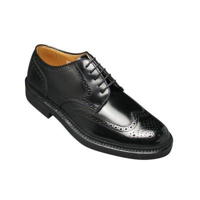 リーガル/ビジネスシューズ ウイングチップ/ウォーキングタイプ/JU14 ブラック/メンズ 靴