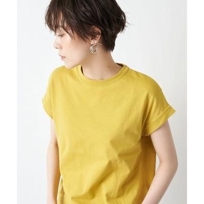 tシャツ Tシャツ 暑い時期に大活躍 汗染み防止クルーネックフレンチTシャツ