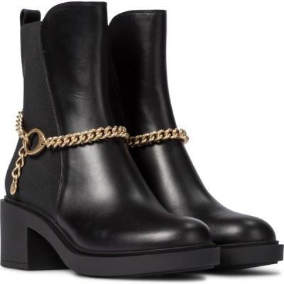 ジャンヴィト ロッシ Gianvito Rossi レディース ブーツ ショートブーツ シューズ・靴 leather ankle boots Black/Black