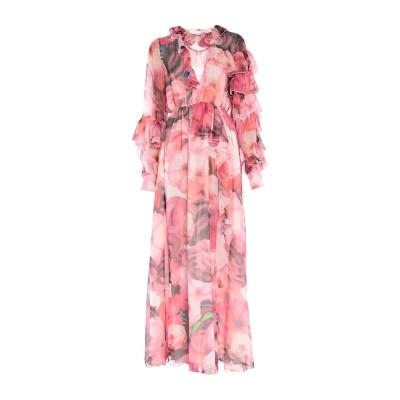 エムエスジーエム MSGM ロングワンピース&ドレス フューシャ 38 ポリエステル 100% ロングワンピース&ドレス