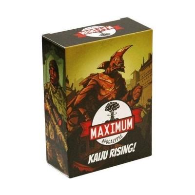 ボードゲーム 英語 アメリカ RMA201 Rock Manor Games Maximum Apocalypse: Kaiju Rising