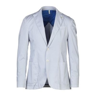 DOMENICO TAGLIENTE テーラードジャケット ライトグレー 54 コットン 97% / ポリウレタン 3% テーラードジャケット