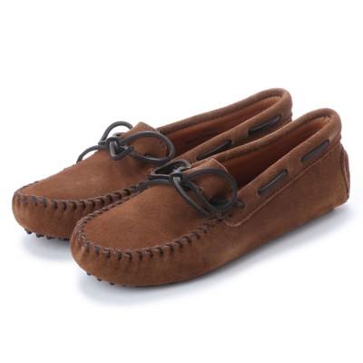 ミネトンカ Minnetonka Driving Moccasin Shoes (ブラウン)