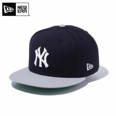 【メーカー取次】 NEW ERA ニューエラ 9FIFTY ニューヨーク・ヤンキース ネイビーXグレー 12492801 キャップ【Sx】