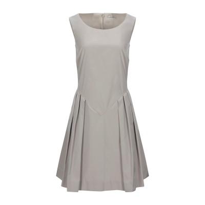 NINA RICCI ミニワンピース&ドレス ライトグレー 34 ポリエステル 100% ミニワンピース&ドレス