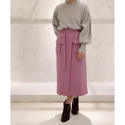 スカート オープンタイトスカート