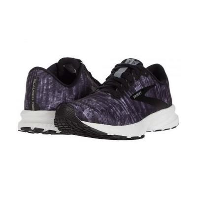 Brooks ブルックス レディース 女性用 シューズ 靴 スニーカー 運動靴 Launch 7 - Marble Black/Grey/White