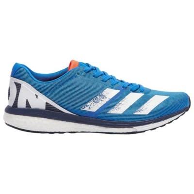 アディダス シューズ メンズ ランニング adiZero Boston 8 Trace Blue/Core White/Glory Blue