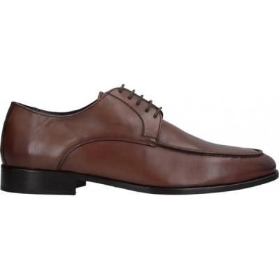 ロベルト デラ クローチェ ROBERTO DELLA CROCE メンズ シューズ・靴 laced shoes Brown
