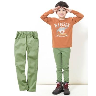 ストレッチツイルスキニーパンツ(男の子。女の子 子供服。ジュニア服) パンツ, Kids' Pants