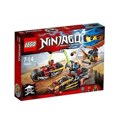レゴ ニンジャゴー ニンジャのパワーバイク 70600