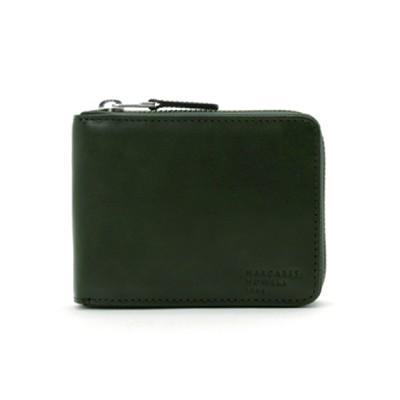 MARGARET HOWELL idea / MARGARET HOWELL idea(マーガレット・ハウエル アイデア) ナチュラルタンニング ラウンドファスナー折り財布 MEN 財布/小物 > 財布