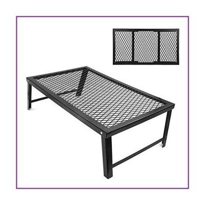 Bnineteenteam Camping Grill Gate Foldable BBQ Campfire Grill Grate for Camping BBQ(並行輸入品)