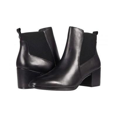 Anne Klein アン クライン レディース 女性用 シューズ 靴 ブーツ チェルシーブーツ アンクル Parson - Black Leather