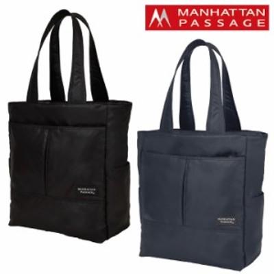【レビューを書いて+5%】マンハッタンパッセージ トートバッグ スタイリッシュトート コミューター Plus2 B4 メンズ 3202 | MANHATTAN