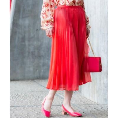 EPOCA THE SHOP / ライトウェイトニット プリーツスカート WOMEN スカート > スカート