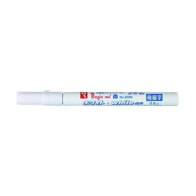 寺西化学工業 マジックインキ ホワイト・whiteSR No.900W M900W 1本 837-1104(直送品)