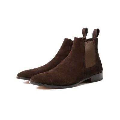 BEAMS MEN / POLPETTA / 別注 スエード サイドゴアブーツ MEN シューズ > ブーツ