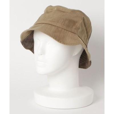 帽子 ハット KIJIMA TAKAYUKI / キジマタカユキ:チェックハット:W-192652[ANN]