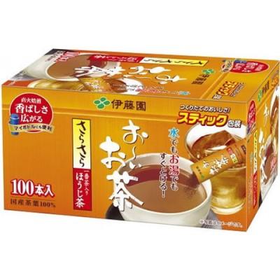 伊藤園/お~いお茶 さらさらほうじ茶 スティック 100本