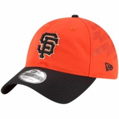 New Era ニュー エラ スポーツ用品  New Era San Francisco Giants Orange/Black Prolight Batting Practice 9TWENTY Adjusta