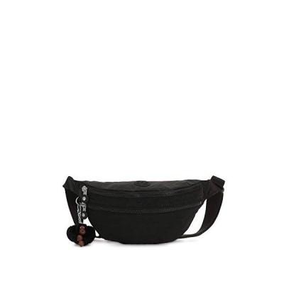 Kipling Women's Sara Convertible Waistpack Waist Pack, True Black, One Size【並行輸入品】