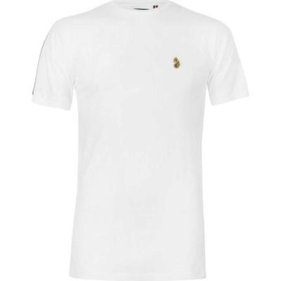 ルーク Luke Sport メンズ Tシャツ トップス Iron Ribbon T Shirt White