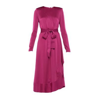 ジバンシィ GIVENCHY 7分丈ワンピース・ドレス モーブ 38 レーヨン 58% / アセテート 42% / シルク 7分丈ワンピース・ドレス