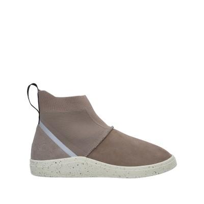 ADNO® ショートブーツ ドーブグレー 41 革 / 紡績繊維 ショートブーツ