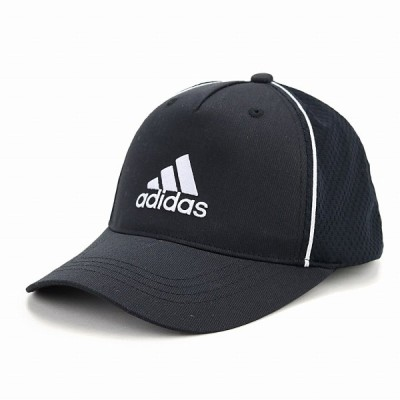 adidas 快適 ツイル キャップ 帽子 メンズ オールシーズン メッシュキャップ スポーツ アディダス 大きいサイズ cap 黒 ブラック × ホワイト