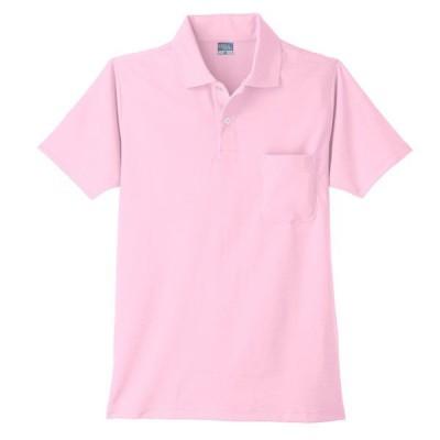 ワークウェア・作業用ポロシャツ 小倉屋 DRYシリーズ DRY 半袖ポロシャツ ピンク 9006-13-4L 1枚(直送品)