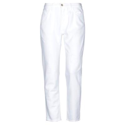 ロイ ロジャース ROŸ ROGER'S パンツ ホワイト 27 コットン 52% / テンセル 48% パンツ