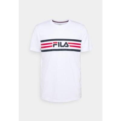 フィラ メンズ スポーツ用品 NICLAS - Print T-shirt - white