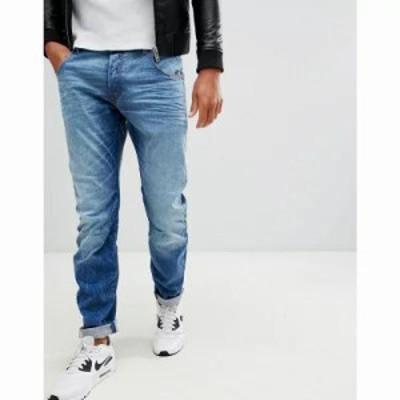 ジースター ジーンズ・デニム Arc 3d slim fit jeans in light aged Lt aged