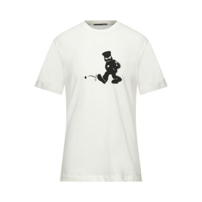 シーピーカンパニー C.P. COMPANY T シャツ ホワイト S コットン 100% T シャツ