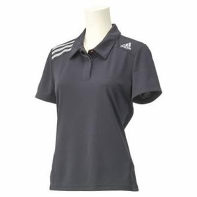 adidasアディダス W CLIMACHILL ポロシャツ Mサイズ ANP39 (F82159) ブラック