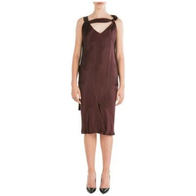 ドレス ニールバレット NEIL BARRETT WOMEN'S KNEE LENGTH DRESS SLEEVELESS NEW ORIGINAL 565