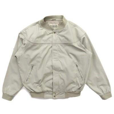ブルゾン ジャケット スイングトップ ベージュ サイズ表記:XL