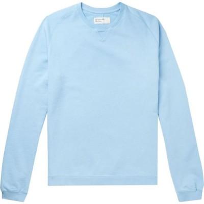 ユニバーサルワークス UNIVERSAL WORKS メンズ スウェット・トレーナー トップス sweatshirt Sky blue