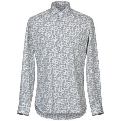 ORIAN シャツ ブルー 38 コットン 100% シャツ