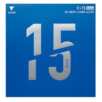VICTAS(ヴィクタス) V>15 エクストラ 裏ソフトラバー【赤】 020461-0040 卓球 ラバー