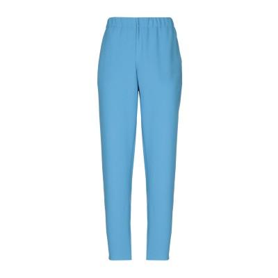 ブルー レ・コパン BLUE LES COPAINS パンツ パステルブルー 42 ポリエステル 100% パンツ